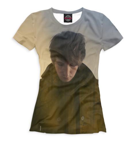 Женская футболка Кристиан Лофлер