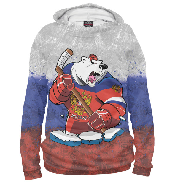 Купить Худи для девочки Медведь HOK-184460-hud-1