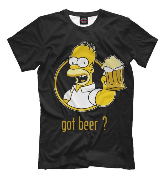Купить Мужская футболка Homer SIM-275959-fut-2