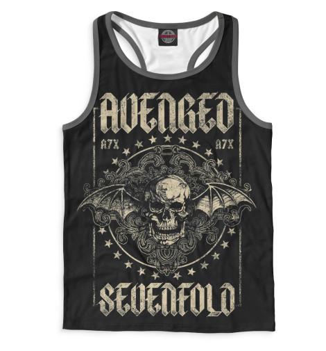 Мужская майка-борцовка Avenged Sevenfold