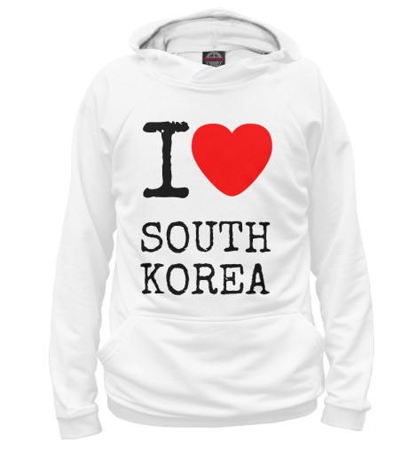Худи Print Bar I love South Korea ожерелье south korea imports hellokitty