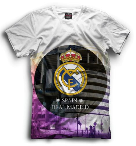 Мужская футболка Герб и стадион