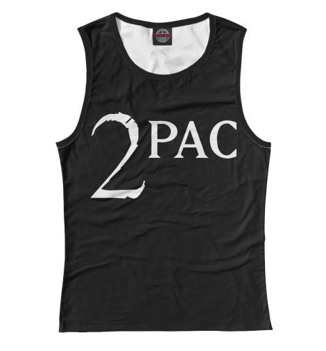Майка Print Bar 2Pac лонгслив printio тупак шакур 2pac