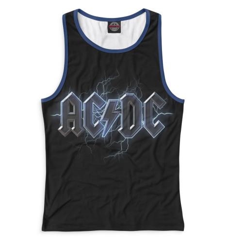 Женская майка-борцовка AC/DC