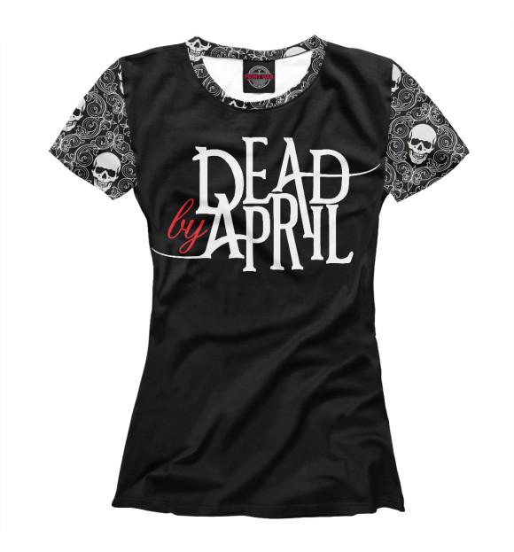 Купить Женская футболка Dead by April MZK-170732-fut-1