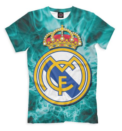 Мужская футболка Герб Real Madrid