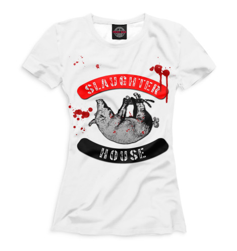 Женская футболка Slaughterhouse