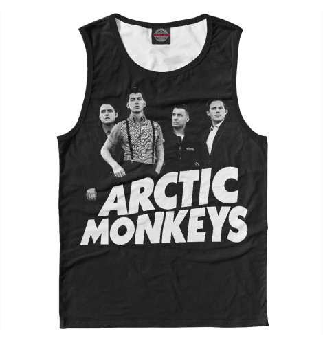 Майка Print Bar Arctic Monkeys свитшот print bar монстер хай