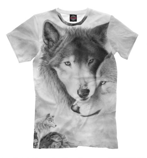 Футболка Print Bar Волки василий сахаров степные волки
