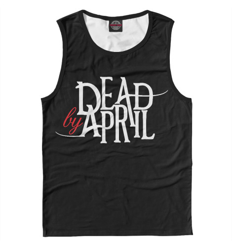 Майка Print Bar Dead by April худи print bar the walking dead