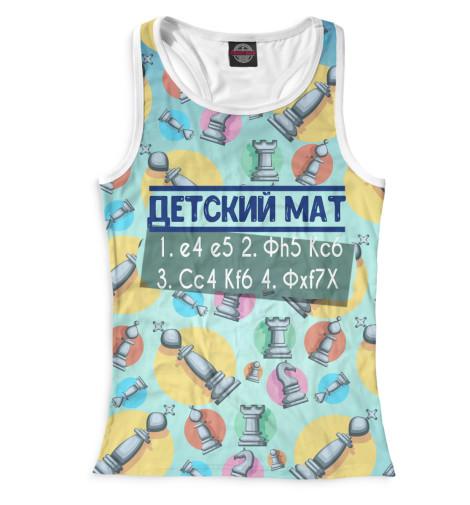 Майка борцовка Print Bar Детский мат иваново детский трикотаж в москве оптом