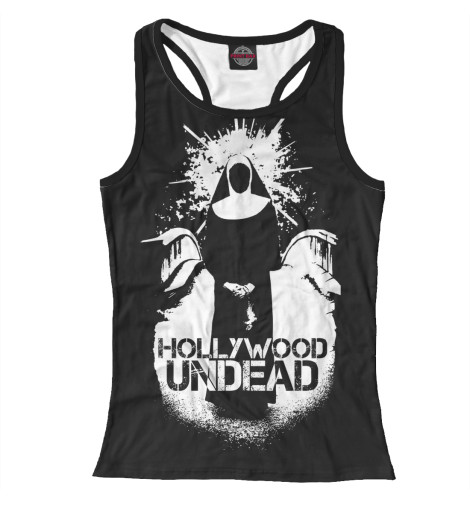 Майка борцовка Print Bar Hollywood Undead худи print bar hollywood undead logo4