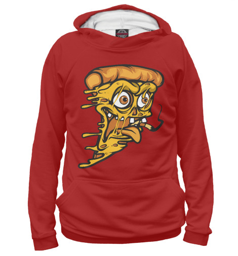 Худи Print Bar Crazy Pizza свитшот print bar flash pizza