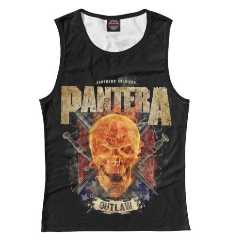 Майка Print Bar Pantera майка print bar pantera skull and snake