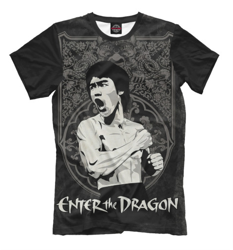 Футболка Print Bar Enter the Dragon chris wormell george and the dragon
