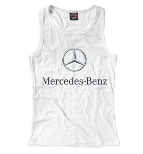 Женская майка-борцовка Mercedes-Benz