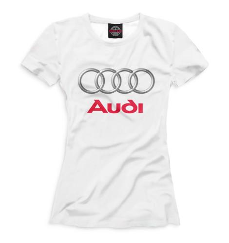 Женская футболка Audi