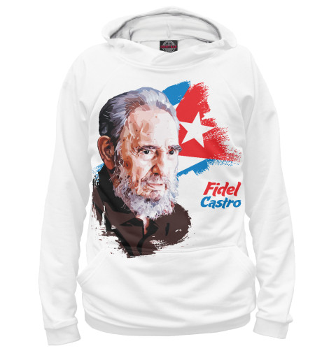 Худи Print Bar Fidel Castro the autobiography of fidel castro