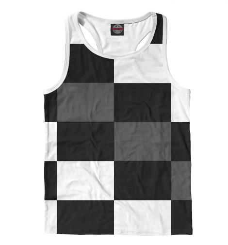 цена  Майка борцовка Print Bar Шахматная клетка  онлайн в 2017 году