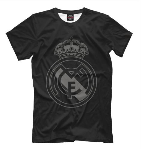 Футболка Print Bar FC Real Black Logo футболка print bar real огненный лого