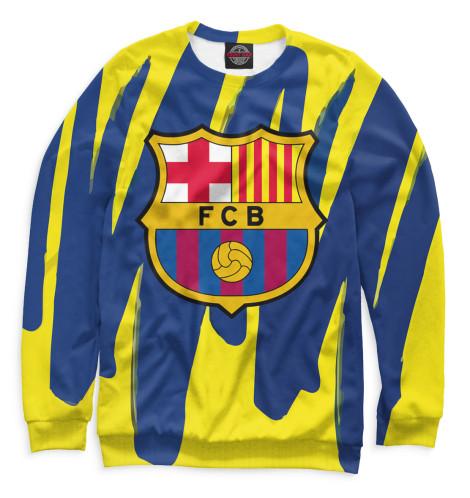 Мужской свитшот Герб FC Barcelona