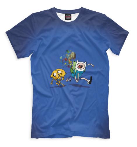 Мужская футболка Финн и Джейк