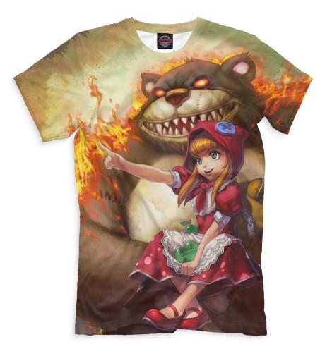 Мужская футболка Annie