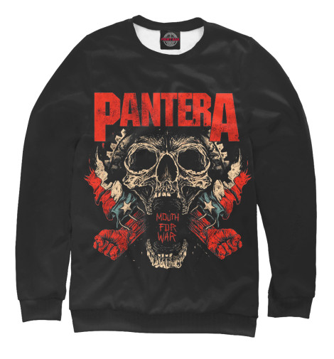 Свитшот Print Bar Pantera Mouth For War свитшот print bar pantera skull and snake