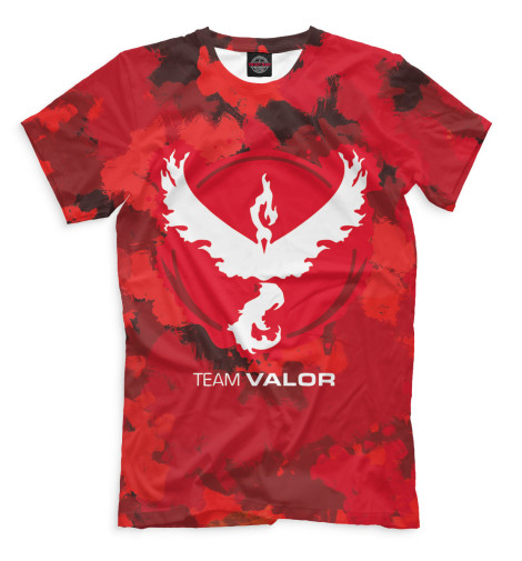 Футболка Print Bar Team Valor футболка print bar valor pokemon team