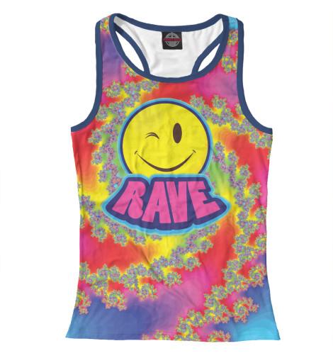 Майка борцовка Print Bar Happy Rave майка print bar rave