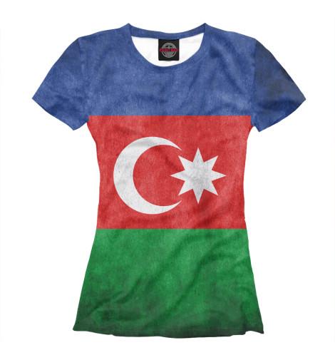 Футболка Print Bar Флаг Азербайджана худи print bar флаг азербайджана