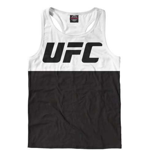 Майка борцовка Print Bar UFC black anthony vaccarello noir юбка до колена