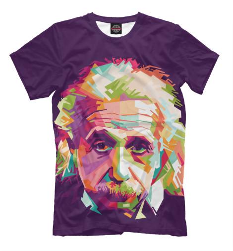 Футболка Print Bar Альберт Энштейн альберт кузнецов элементарная электротехника
