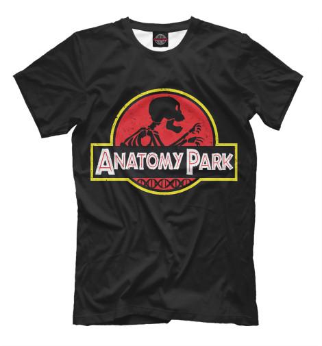 Футболка Print Bar Anatomy Park anatomy of a disappearance