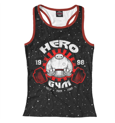 Майка борцовка Print Bar Hero Gym gopro hero prosto hero