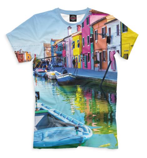 Мужская футболка Венеция