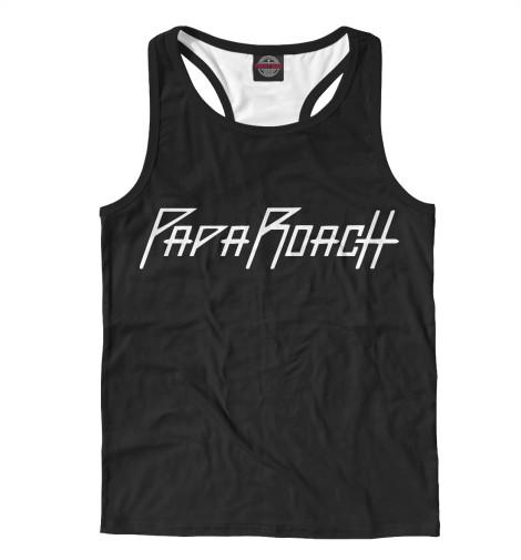 Майка борцовка Print Bar Papa Roach сувенир steve roach quiet music