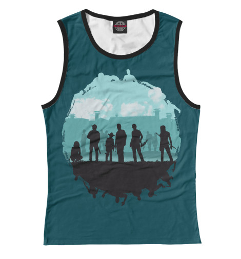 Майка Print Bar The Walking Dead худи print bar the walking dead