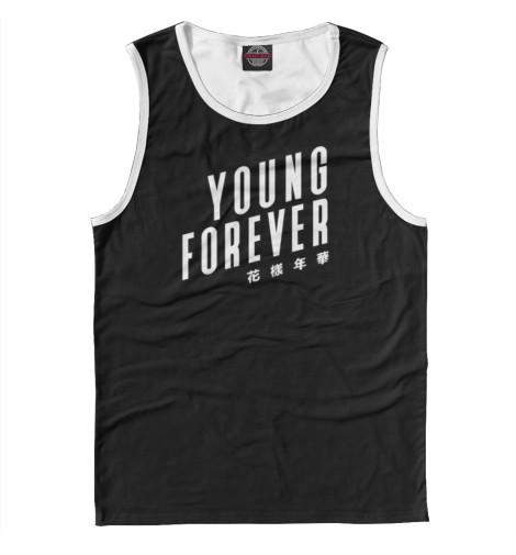 Майка Print Bar Young Forever худи print bar young thug