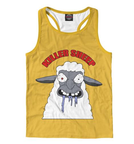 Майка борцовка Print Bar Killer Sheep майка борцовка print bar killer