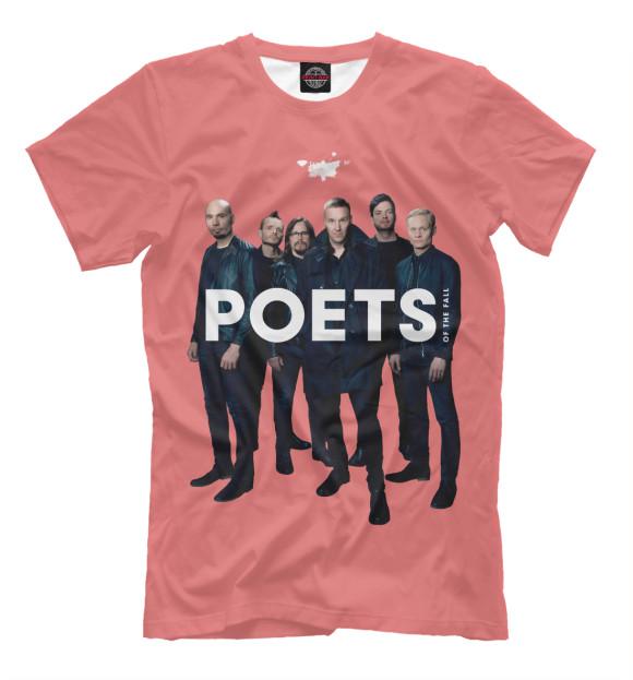Купить Мужская футболка Poets Of The Fall MZK-533261-fut-2