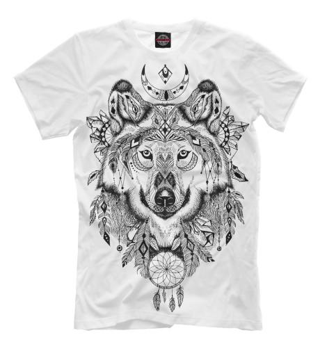 Футболка Print Bar Волк тотем футболка print bar волк тотем