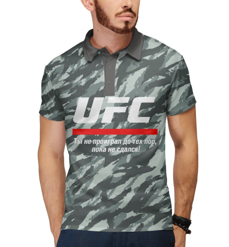 Поло Print Bar UFC комуфляж