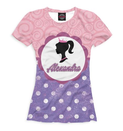 Женская футболка Александра