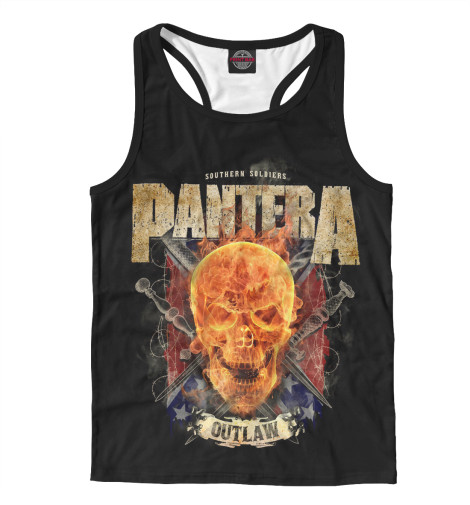 Майка борцовка Print Bar Pantera майка борцовка print bar pantera cowboys from hell