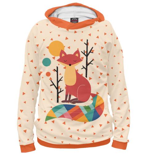 Худи Print Bar Осенняя лисичка