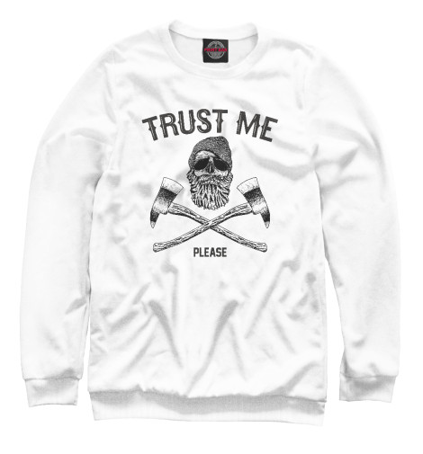 Свитшот Print Bar Trust me майка борцовка print bar trust me you can dance