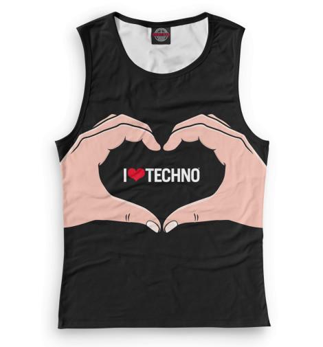 Женская майка Techno