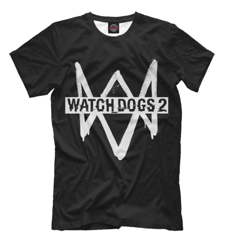 Футболка Print Bar Watch Dogs 2 цена и фото