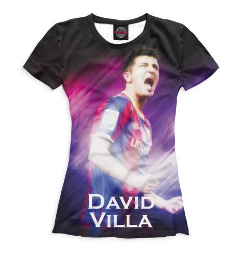 Женская футболка Вилья